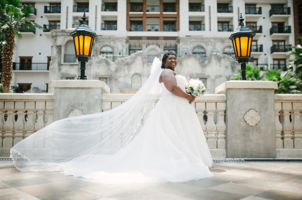 Romantic Natural Light Bridal Shoot in Grapevine, TX