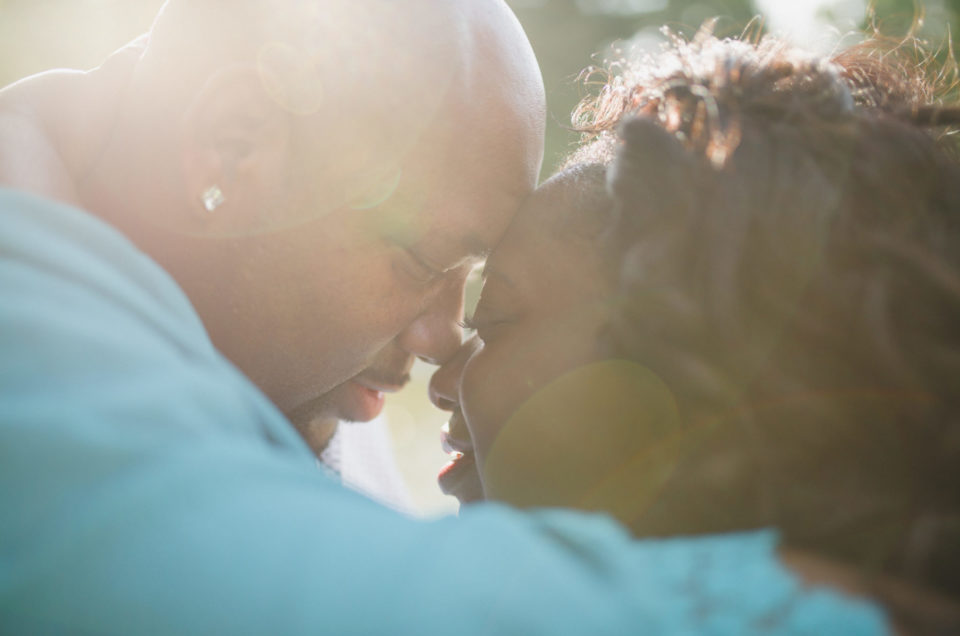 Romantic Dallas Engagement Session - Natasha + Jerome